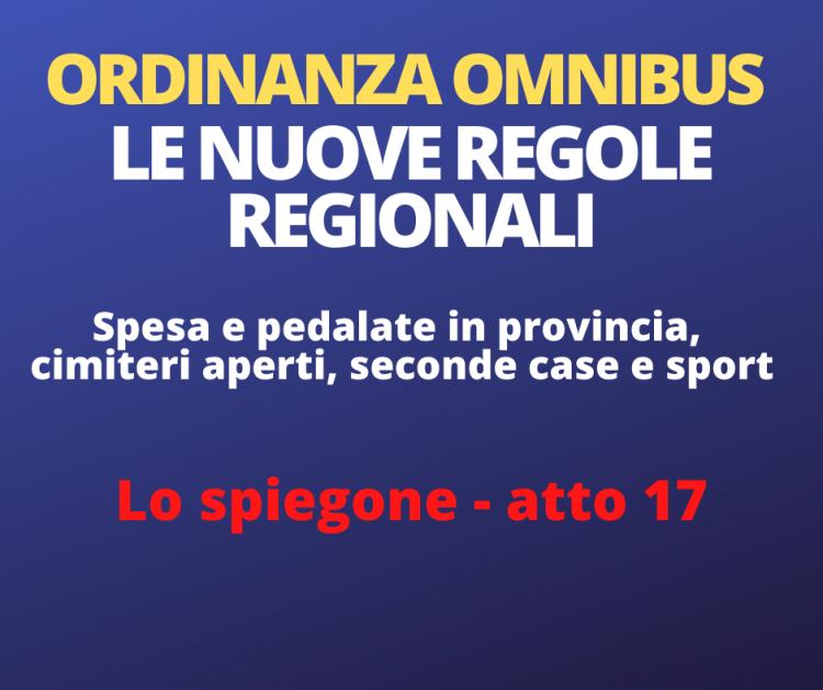 Comune di Fidenza » L'ordinanza omnibus della Regione ...